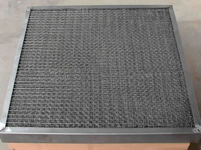 Knitted Mesh Filter - Stainless Steel and Galvanized